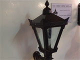 17. TYPICAL   CAST  IRON  PORCH  LIGHT